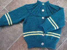 Knitted Baby Sweater 1218 mth by ComeAgainDesigns on Etsy, $40.00