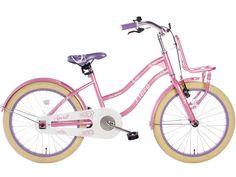€149 Spirit Flora Meisjesfiets Roze-Paars 20 inch