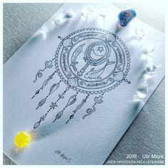 MANDALA - A JANELA SOBRE O MAR, COM IEMANJÁ OGUNTÉ. Destino: São Paulo-SP. #mandala #mandalas #iemanjá #yemanjá #yemanjáogunté #tattoobrasil #tatuagem #talismã Boho Tattoos, Dream Tattoos, Small Tattoos, Tatoos, Delicate Tattoo, Tattoo Life, Inked Girls, Tattoo Drawings, Creative Art