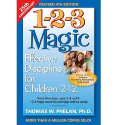 An edition of the award-winning 1-2-3 Magic program that addresses the difficult task of child discipline. By means of three easy-to-follow steps, it helps parents learn to manage troublesome behaviour, encourage good behaviour, and strengthen the parent-child relationship - avoiding the 'Talk-Persuade-Argue-Yell-Hit' syndrome.