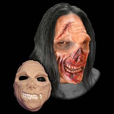 hungry zombie foam latex prosthetic applianceprosthetic mask inspirationcottagespecial effects makeupfx makeuphalloween