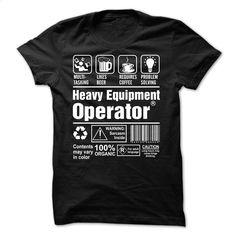 Proud To Be A Heavy Equipment Operator T Shirts, Hoodies, Sweatshirts - #custom shirt #mens casual shirts. PURCHASE NOW => https://www.sunfrog.com/No-Category/Proud-To-Be-A-Heavy-Equipment-Operator.html?60505