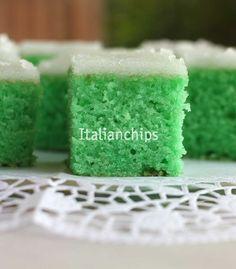 Una torta verde per San Patrizio