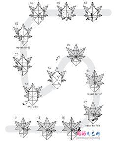 maple leaf origami 4