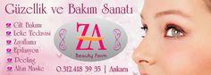 ZA Beauty Form olarak hizmetlerimiz şu şekilde özetleyebiliriz.Detaylı bilgi ve sorularınız için lütfen bizi arayınız.   0.312.418 39 35  Epilasyon uygulamaları , Leke giderme , Kırışıklık giderme , Cilt bakımı , Kimyasal Peeling ( Agera ) , Oksijen terapi , Altın Maske  AWT uygulamaları ( ( akustik şok dalga )  bölgesel incelme, popo kaldırma ,yüz gençleştirme, gıdık toparlama, kol sarkması )