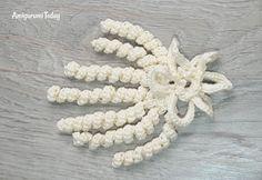 Amigurumi wedding bears: crochet pattern - bridal veiling