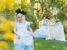 Cedar Rapids Photography│Babies Kids Seniors: Kids Disney Alice and Wonderland Portraits│Marion, Iowa