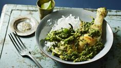 Try this healthy curry recipe packed full of spinach goodness.  Each serving provides 266kcal, 33g protein, 6.5g carbohydrate (of which 6g sugars), 11g fat (of which 1.5g saturates), 4g fibre and 0.6g salt.