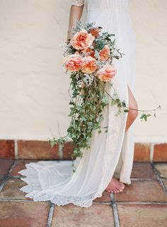 Sweet apricot bouquet