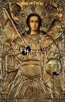 Russian Orthodox of the Miracle Working Icon of Archangel Michael Paint Icon, Russian Icons, Best Icons, Russian Orthodox, Angel Pictures, Orthodox Christianity, Archangel Michael, Religious Icons, Guardian Angels