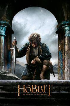 Der Hobbit 3: Die Schlacht der Fünf Heere - Bilbo Poster bei MonkeyPosters.de