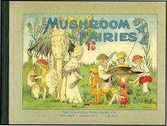 'Mushroom Fairies',By Ada Louise Sutton,1910,