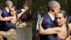 Obama Bir Kadınla Sarmaş Dolaş Görüntülendi