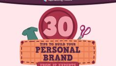 How To Build A Personal Brand – 30 Tips From 37 Experts [SlideShare]