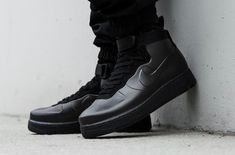Get The Nike Air Force 1 Foamposite Triple Black Now