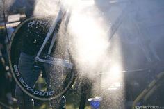Niels Albert's bike is being cleaned Scheldecross, Antwerp 2012