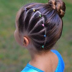 ideas short bob ideas down upstyle ideas ideas marriage ideas creative ideas by face shape hairstyle ideas african american ideas for pattu saree Easy Toddler Hairstyles, Cute Little Girl Hairstyles, Baby Girl Hairstyles, Braided Hairstyles, Toddler Hair Dos, Hairdos, 80s Hairstyles, Office Hairstyles, Hair Kids