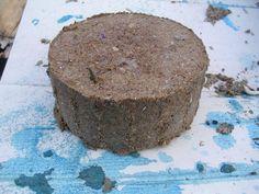 Bio fuel briquettes, compress paper pulp and sawdust into fuel bricks. #preppers #survival #shtf