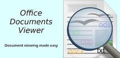Download Office Documents Viewer FULL v1.18 Apk for android : Small and fast OpenOffice.org and (with limitations) Microsoft Office 2007 document viewing application.Requires: Android 2.2 and up Size : 3.2 MB