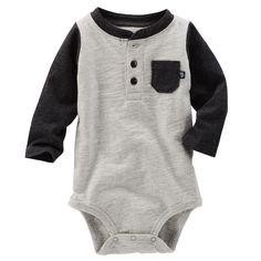 Baby Boy Colorblock Bodysuit | OshKosh.com