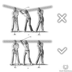 Keep your head still throughout your swing