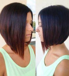 Asymmetrical Bob Hairstyles 2015 For Women