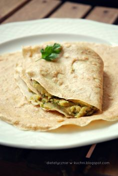 FIT Naleśniki: 10 Pysznych Przepisów Hummus, Graham, Nom Nom, Low Carb, Meals, Ethnic Recipes, Fitness, Food, Pierogi