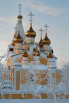 ˚Preobrazhensky Cathedral - Yakutsk City