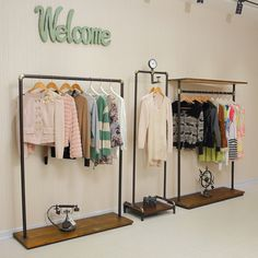 Image result for how to build a wooden clothing display rack