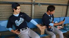 Nash & Cam on the set of Outfield The Outfield, Polo Shirt, Polo Ralph Lauren, Magcon, Boys, Mens Tops, Shirts, Fashion, Baby Boys