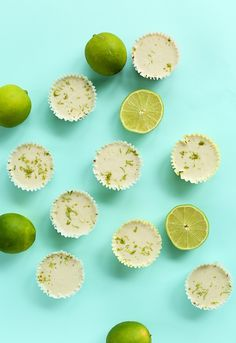 The perfect summer treat for any time of the day - Mini Key Lime Pies
