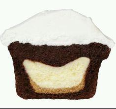 Cheesecake Stuffed Chocolate cupcake #Food #Drink #Trusper #Tip