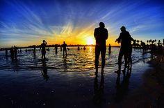 Sunrise at the Triathlon in San Diego