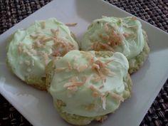 Tropical key-lime cookies :)