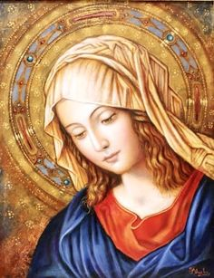 Religious Pictures, Jesus Pictures, Religious Icons, Religious Art, Madonna, Blessed Mother Mary, Blessed Virgin Mary, Catholic Art, Catholic Saints