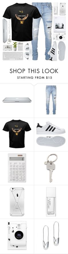 """I'm radioactive"" by alexandra-provenzano ❤ liked on Polyvore featuring Balmain, adidas, Muji, Paul Smith, NARS Cosmetics, Lomography, Tom Binns, Crate and Barrel, men's fashion and menswear"