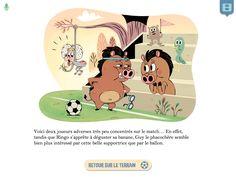 """Vignette histoire gagnée """"Panique dans la savane"""" #Livreenfant #numériquejeunesse #cartoon #Auroredamant #ebooks #epub #kids #Livresjeunesse #jeunesse #iPad #enfants #livre-jeu #mix&match"""