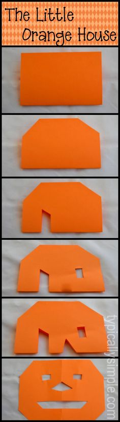 The Little Orange House story that students can follow and interact together