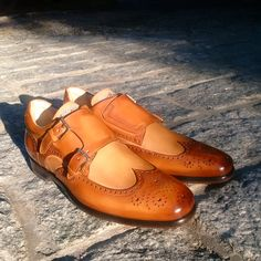 Double monk strap by Stefano Branchini. Order at WWW.CORRESPONDENTSHOES.COM