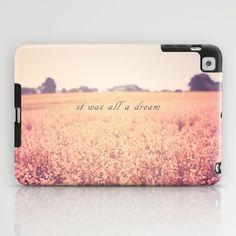 It was all a dream iPad Case by secretgardenphotography [Nicola] - $60.00