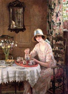 William Henry Margetson (1860-1940) es un pintor británico