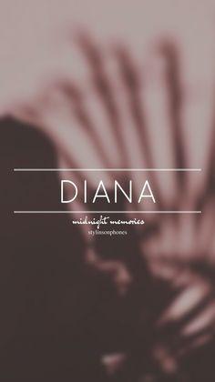 Diana • Midnight Memories Lockscreen — ctto: @stylinsonphones
