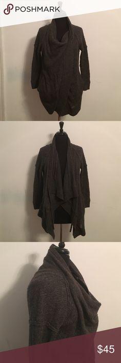 VINCE Tie Neck Cowl Neck Sweater 50% Yak Hair 40% Wool, Lining: 100% Cotton Vince Sweaters Cowl & Turtlenecks