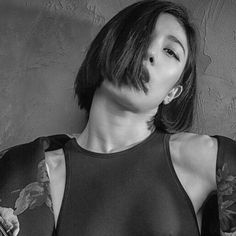 LIA Kim 1Million Dance Studio Choreographer 1million Dance Studio, Kinds Of Haircut, Dress Hairstyles, Iconic Women, Girls Generation, K Idols, Cool Girl, Beautiful People, Short Hair Styles