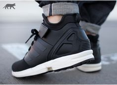 adidas ZX FLUX NPS MID (Core Black / Core Black / Chalk White)