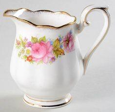 Royal Albert Chatsworth-Pink Mini Creamer