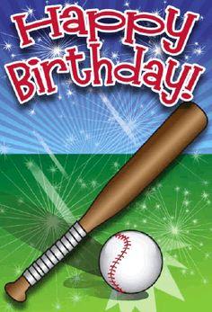 Via Giphy Baseball Pinterest Happy Birthday Happy Birthday