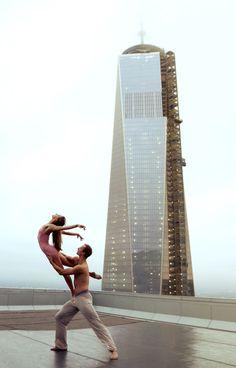 NYC Ballet Dancers Perform Atop World Trade Center Roof - My Modern Metropolis