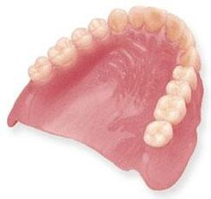Dental term of the day: Rugae - the ridges in the roof of your mouth towards the front. Here they are in a denture!
