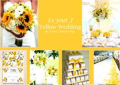 si vous rêvez d'un #mariage #solaire, sous les sunlights des #tropiques.... mais en Belgique (et oui!), le meilleur remède est une #décoration dédiée au #jaune ! Avec le #bleu clair, il vous donnera l'impression d'être déjà à la #plage :D  #jennyshappenings #weddingplanner #eventplanner